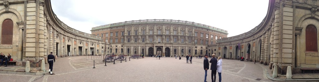 Panorama of Stockholm's Royal Palace